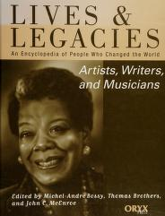 Cover of: Artists, writers, and musicians | edited by Michel-André Bossy, Thomas Brothers, and John Craig McEnroe ; writers, Kim Domenico ... [et al.]