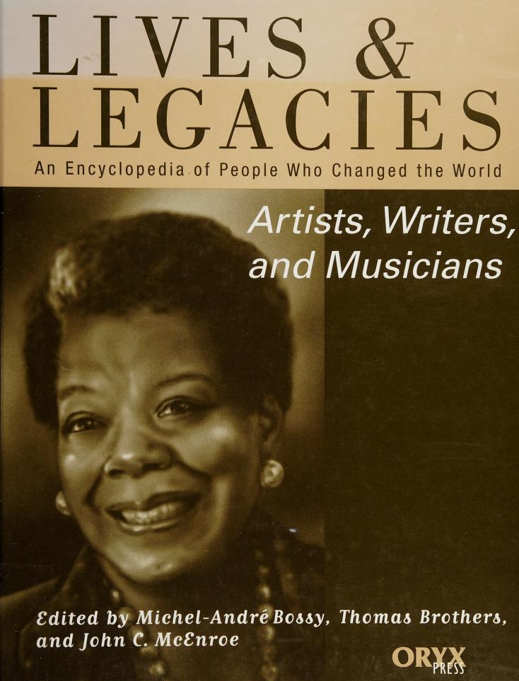 Artists, writers, and musicians by edited by Michel-André Bossy, Thomas Brothers, and John Craig McEnroe ; writers, Kim Domenico ... [et al.]