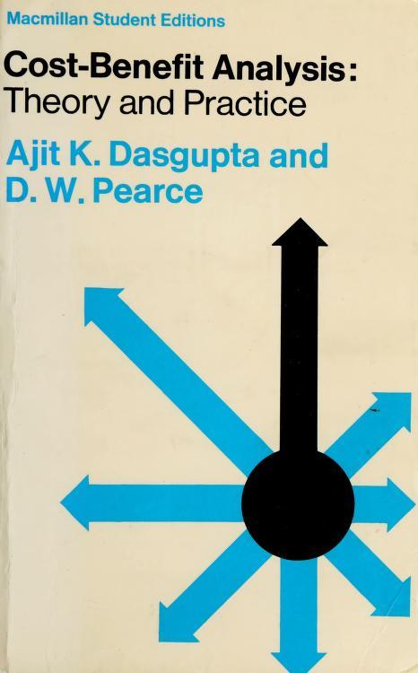 Cost-benefit analysis by Ajit Kumar Dasgupta