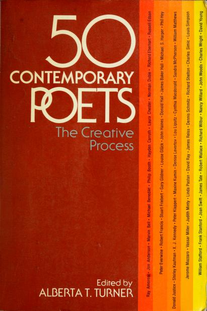 Fifty contemporary poets by edited by Alberta T. Turner.
