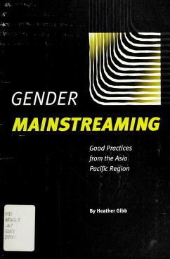Cover of: Gender mainstreaming | Heather Gibb