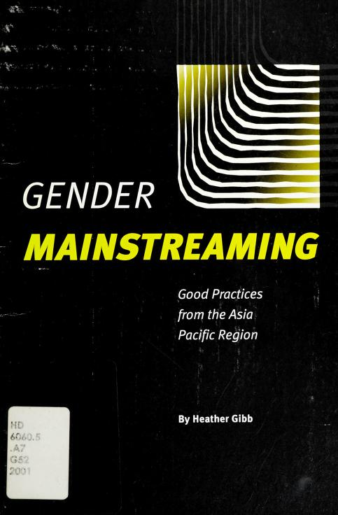 Gender mainstreaming by Heather Gibb