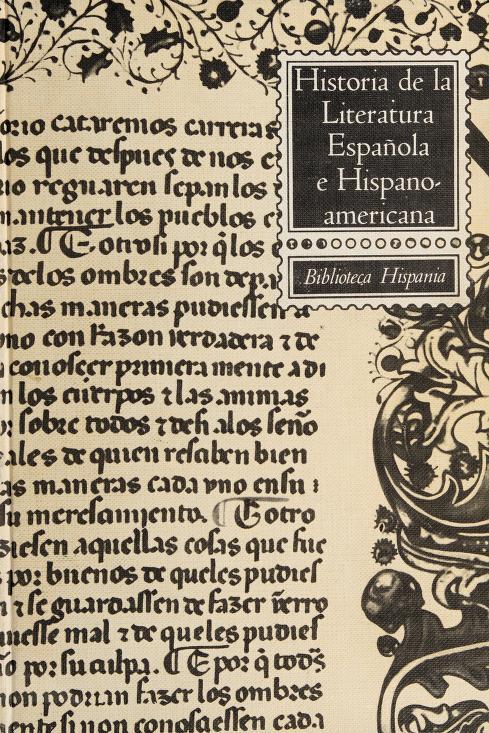 Historia de la literatura española e hispanoamericana by Mauro Armiño