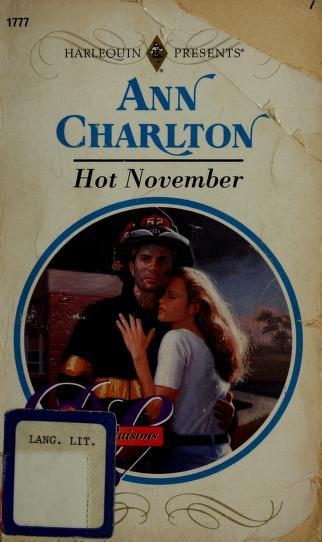 Hot November (Dangerous Liaisons) by Ann Charlton