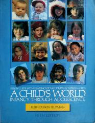 Cover of: A child's world   Diane E Papalia