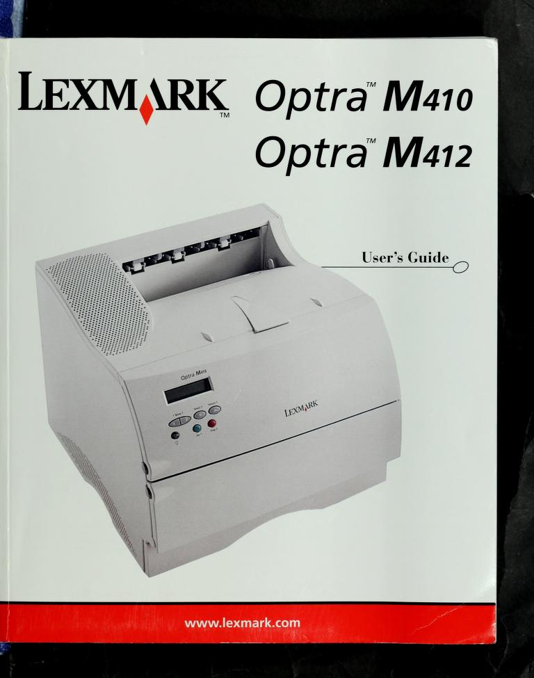 Lexmark Optra C710 by Lyra Research, Inc