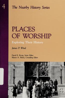 Cover of: Places of worship | James P. Wind
