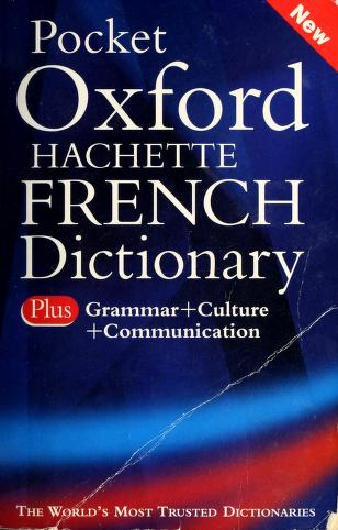 Cover of: Pocket Oxford-Hachette French dictionary | Marie-Hélène Corréard