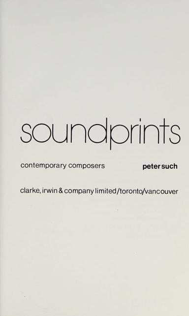 Soundprints by Peter Such